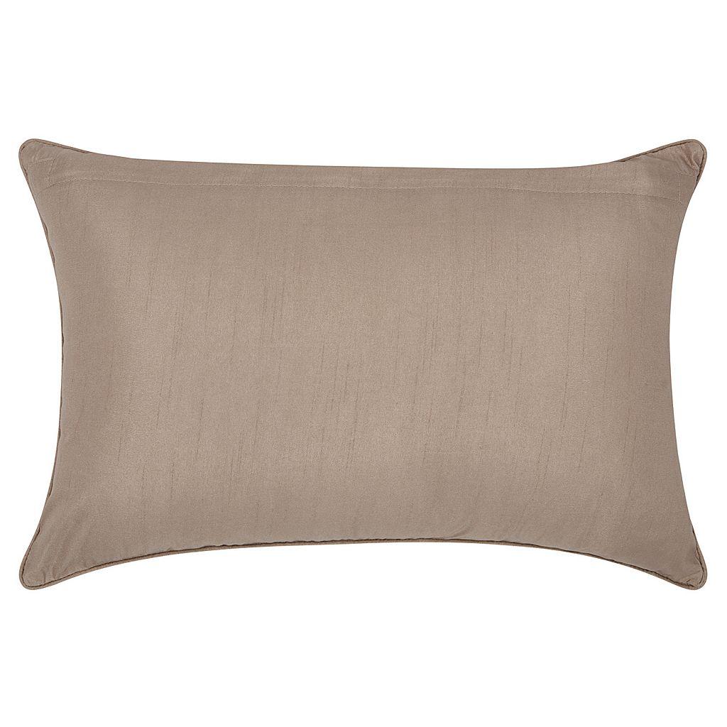 Mina Victory Luminescence Beaded Scroll Throw Pillow