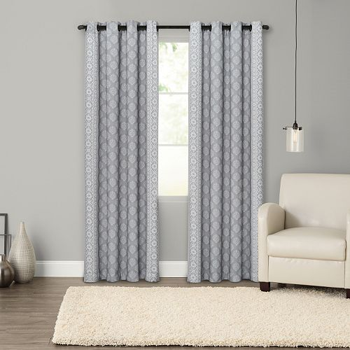 SONOMA Goods for Life™ Blackout 1-Panel Handkerchief Border Window Curtain