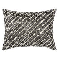 Mina Victory Luminescence Diagonal Chevron Throw Pillow