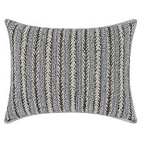 Mina Victory Luminescence Arrowhead Stripes Throw Pillow