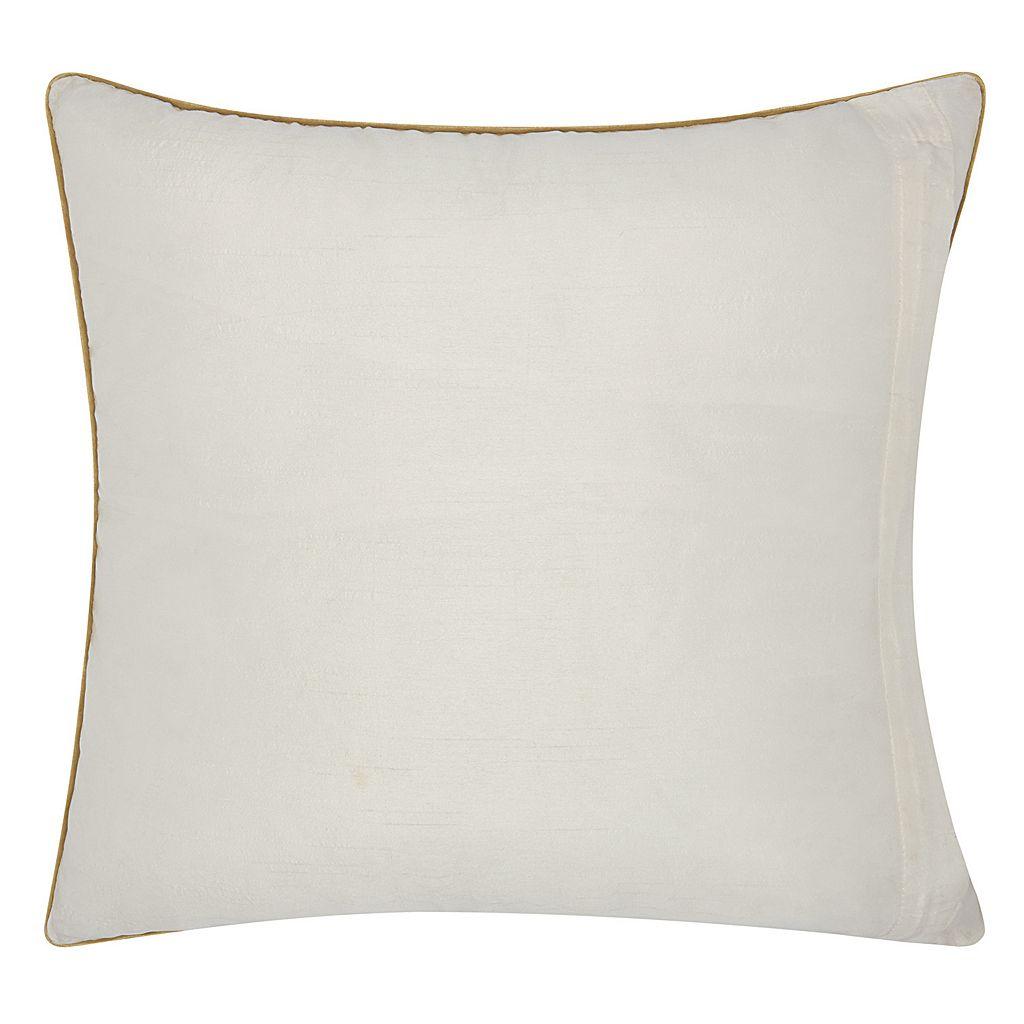 Mina Victory Luminescence Geometric Lattice Throw Pillow
