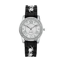 Women's Crystal Chain Watch