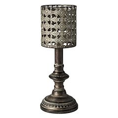 Bombay™ Embossed Metal Candle Holder