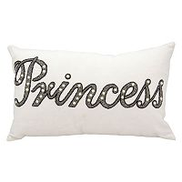 Mina Victory Luminescence Beaded Princess Throw Pillow