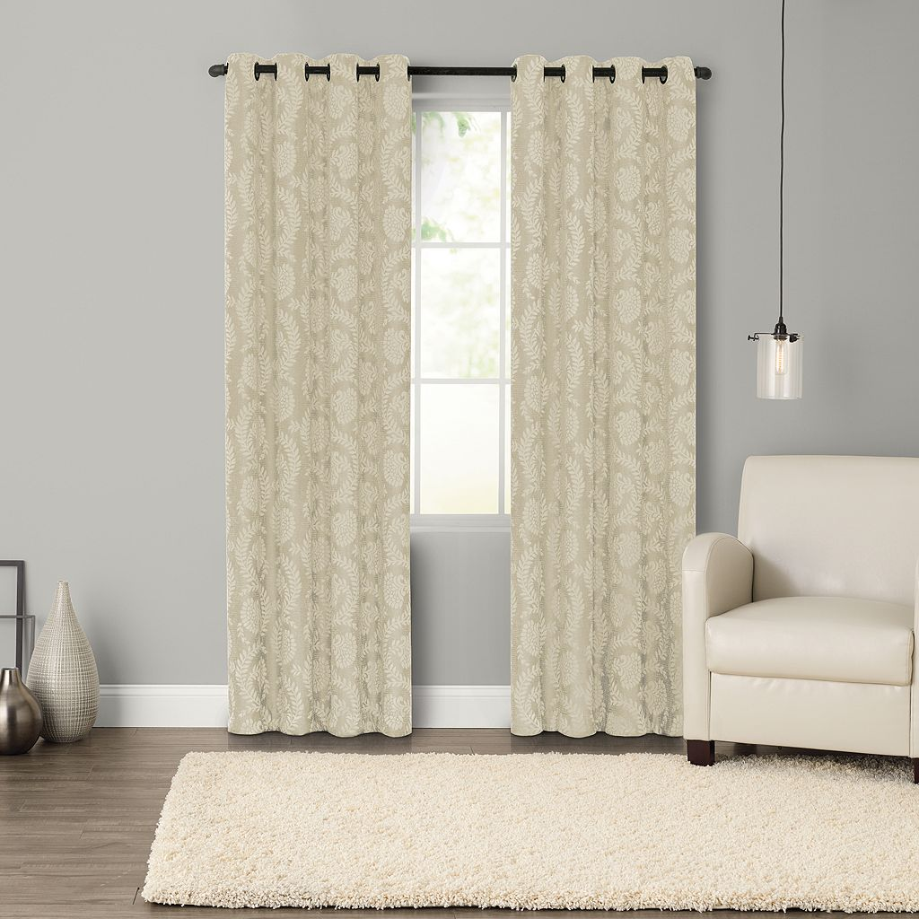 SONOMA Goods for Life™ Pembrook Woven Blackout Curtain