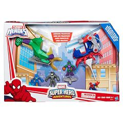 Playskool Heroes Marvel Super Hero Adventures Spider-Man\u2019s Copter Pack by