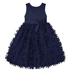 Girls 7-16 & Plus Size American Princess Petal Applique Dress