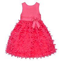 Girls 7-16 & Plus Size American Princess Petal Applique Dress