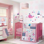 Lambs & Ivy Splish Splash 4 pc Crib Bedding Set