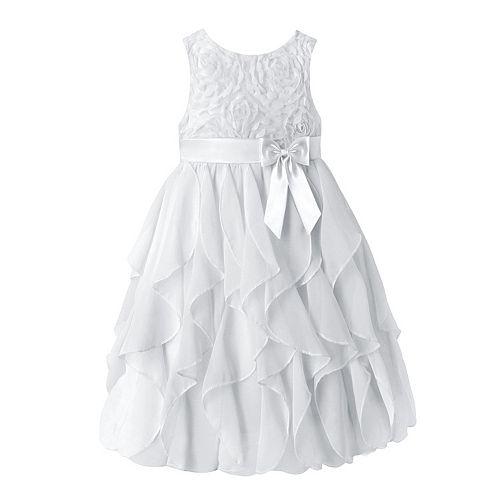 Girls 7-16 & Plus Size American Princess Floral Soutache ...