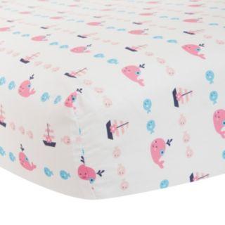 Lambs & Ivy Splish Splash Fitted Crib Sheet