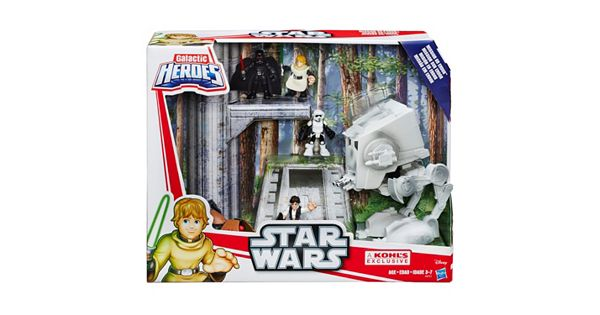 Playskool Heroes Star Wars Galactic Heroes Mission On