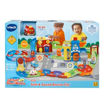 VTech Go! Go! Smart Wheel Safe & Sound Rescue City