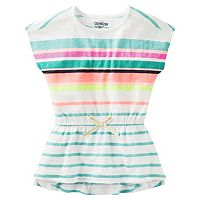 Girls 4-8 OshKosh B'gosh® Multi-Stripe Short Sleeve Tunic