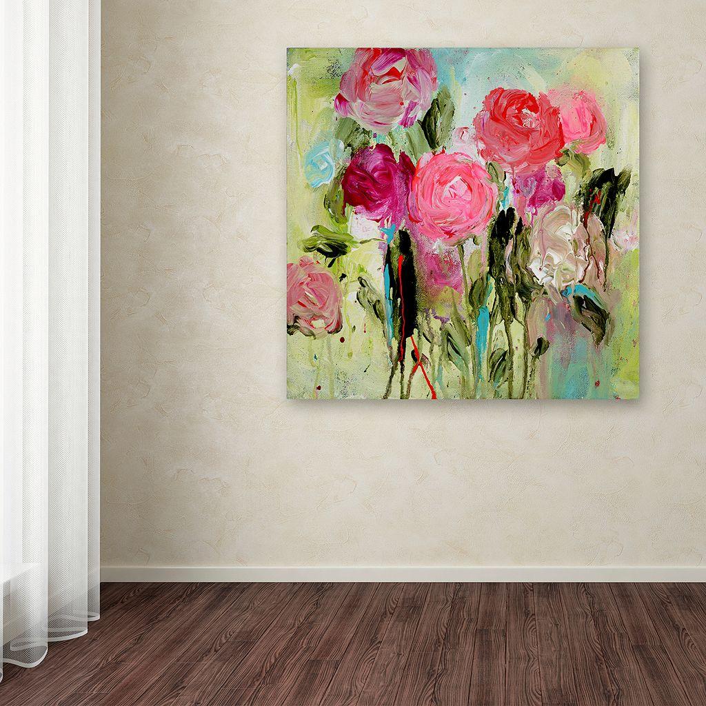 Trademark Fine Art Entre Nous Canvas Wall Art