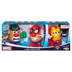 Mr. Potato Head Marvel Spider-Man vs. Hulk Playset by Playskool by
