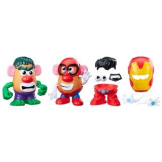 Mr. Potato Head Marvel Spider-Man vs. Hulk Playset by Playskool