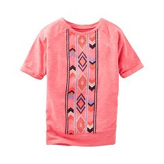 Girls 4-8 OshKosh B'gosh® Tribal Tee