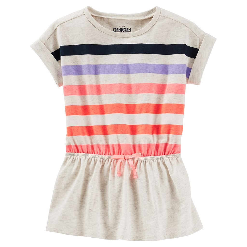 Girls 4-8 OshKosh B'gosh® Striped Cuffed Dolman Tunic