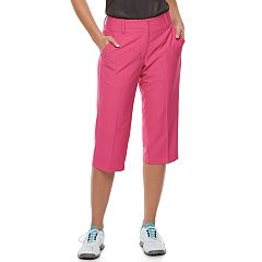 Women's Pebble Beach Performance Stretch Twill Golf Capris