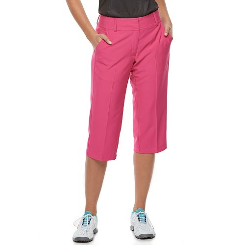 Women's Pebble Beach Performance Stretch Twill Golf Capris