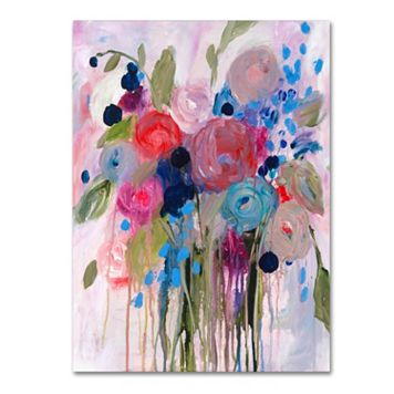 Trademark Fine Art Fresh Bouquet Canvas Wall Art