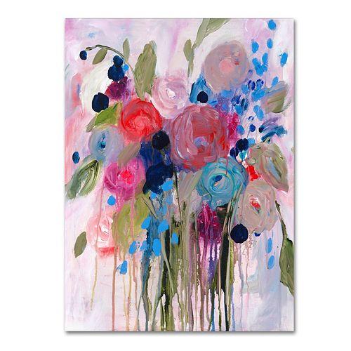 Trademark Fine Art Fresh Bouquet Canvas Wall Art