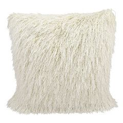 Mina Victory Yarn Shimmer Shag Throw Pillow