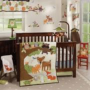 Lambs & Ivy Woodland Tales 4-Pc. Crib Bedding Set