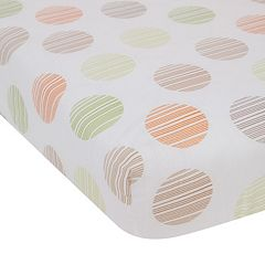 Lambs & Ivy Woodland Tales Fitted Crib Sheet
