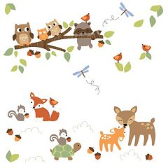 Lambs & Ivy Woodland Tales Wall Appliques