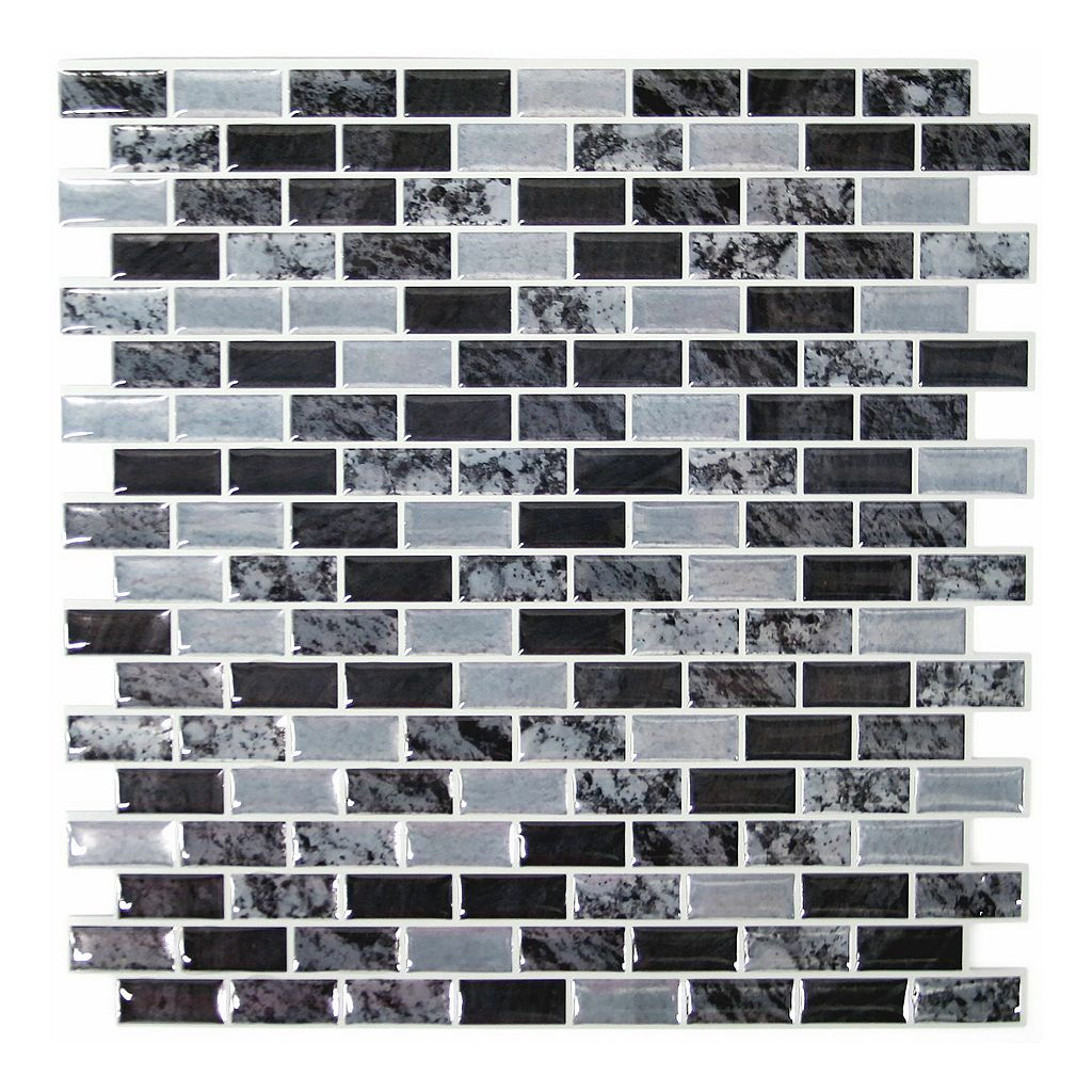 RoomMates Traditional Faux Marble StickTILES Wall Decal 4-piece Set