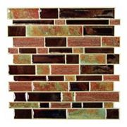 RoomMates Modern Faux Stone StickTILES Wall Decal 4 pc Set
