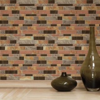 RoomMates Modern Faux Stone StickTILES Wall Decal 4-piece Set