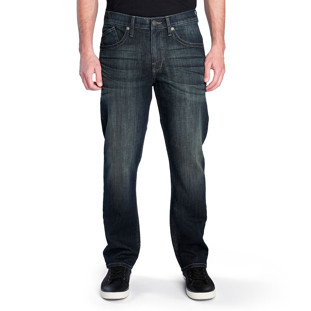 Men's Rock & Republic Midnight Stretch Straight-Leg Jeans