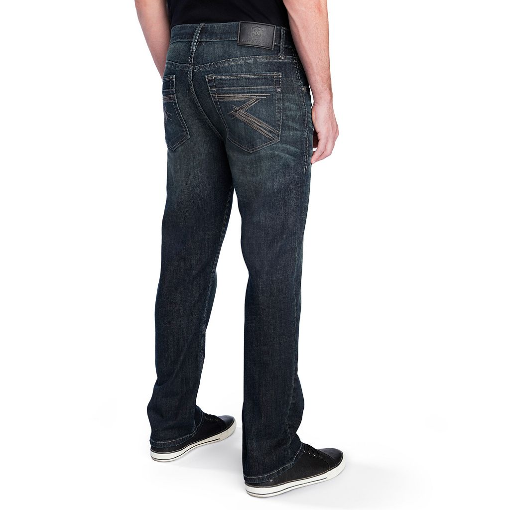 Men's Rock & Republic Midnight Stretch Straight-Leg Jeans