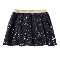 Girls 4-8 OshKosh B'gosh® Sequin Lace Skirt