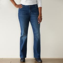 Plus Size SONOMA Goods for Life™ Slim Fit Bootcut Jeans