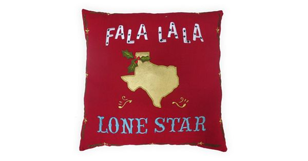 St. Nicholas Square Lone Star Throw Pillow