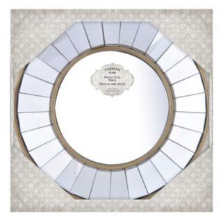 """Parisian Home 10"""" x 10"""" Round Wall Mirror"""