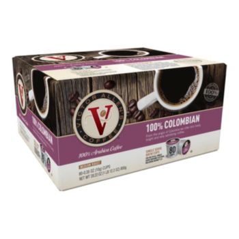 Victor Allen's Coffee Single-Serve Colombian Medium Roast Blend - 80-pk.