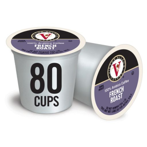 Victor Allen's Coffee Single-Serve French Dark Roast Blend - 80-pk.