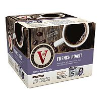 Victor Allen's Coffee Single-Serve French Dark Roast Blend - 42-pk.