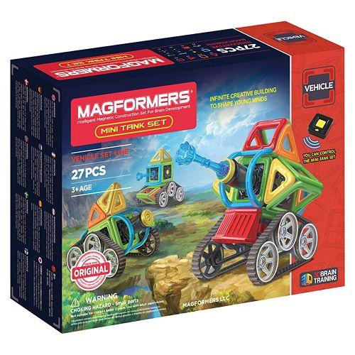 Magformers 27-pc. Mini Tank Set