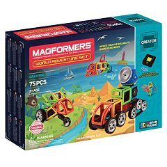 Magformers 76-pc. Adventure World Set
