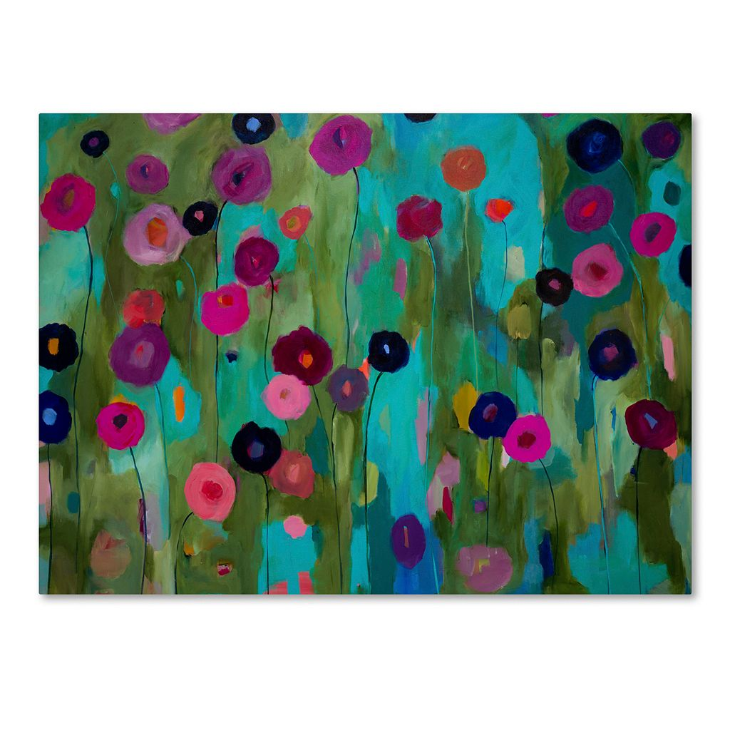 Trademark Fine Art Time To Bloom Canvas Wall Art