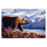 Reflective Art Grizzly Wall Art