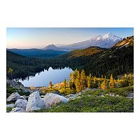 Reflective Art Rugged Reflections Canvas Wall Art
