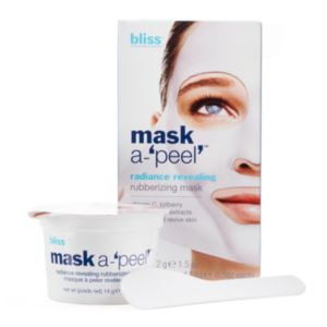bliss Mask-A-Peel Radiance Revealing Rubberizing Masks