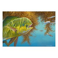 Reflective Art Lunch on the Run Canvas Wall Art
